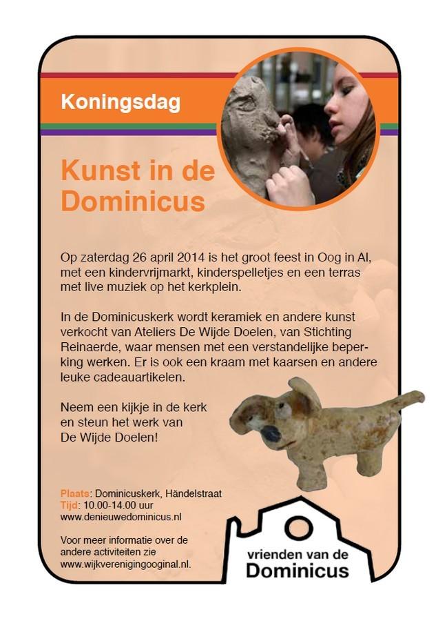 Poster Koningsdag 2014