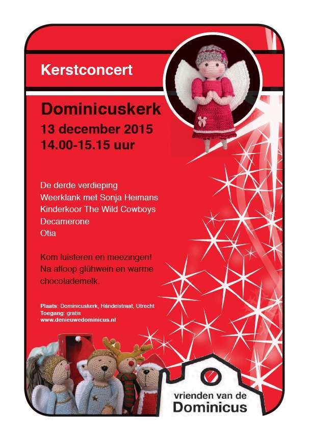 Flyer kerstconcert 2015