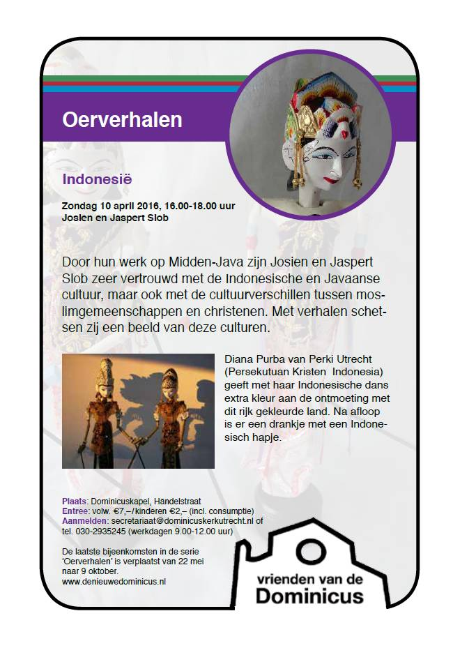 Flyer Indonesische oerverhalen