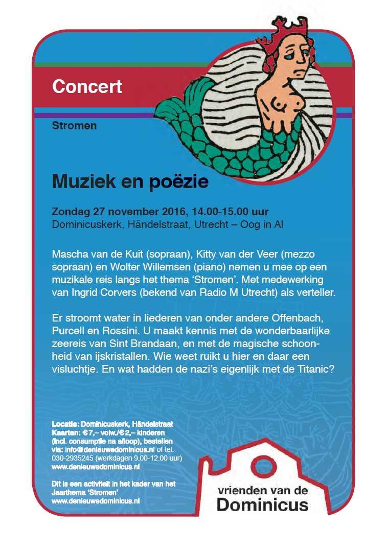 Flyre Concert Stromen - nieuwe versie