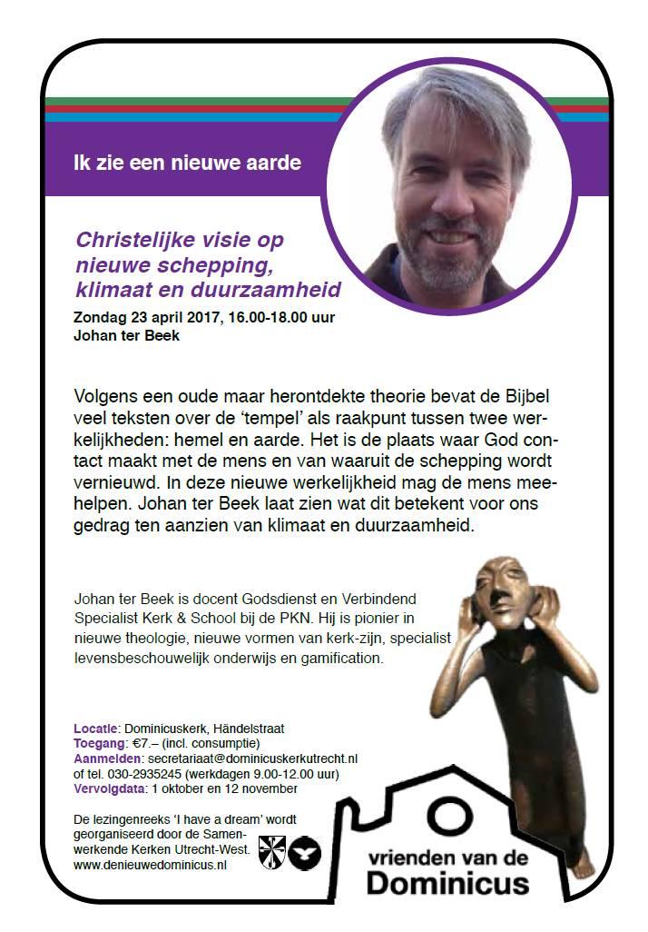 Flyer lezing Ter Beek