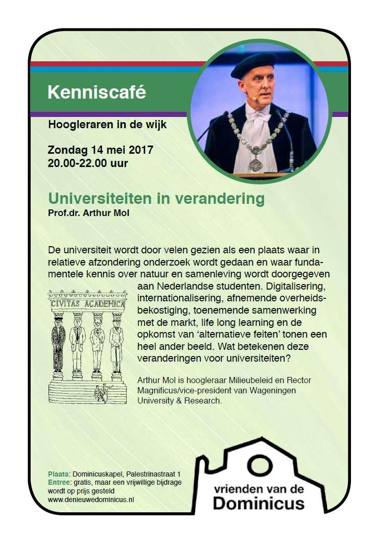 Flyer Kenniscafé 14 mei 2017