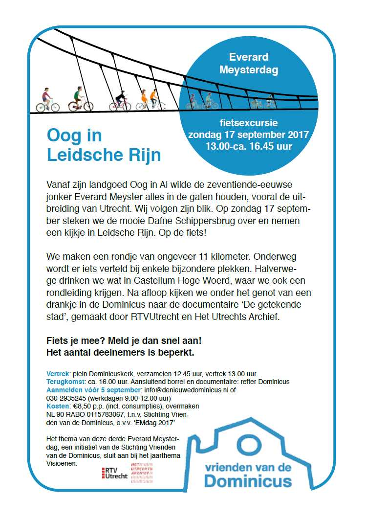 Flyer Everard Meysterdag 2017: Oog in Leidsche Rijn