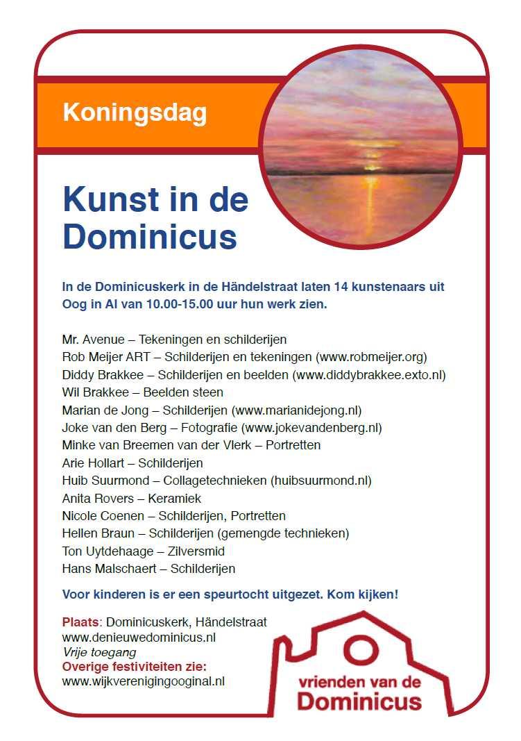 Flyer Koningsdag 2018