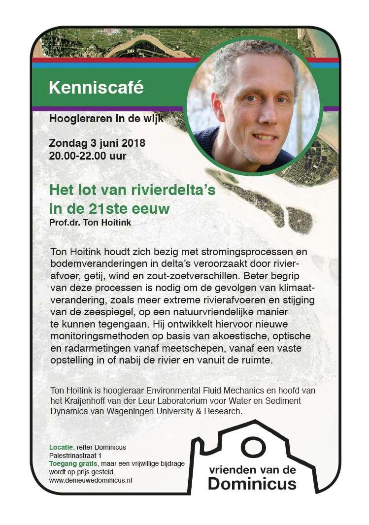 Flyer lezing Ton Hoitink