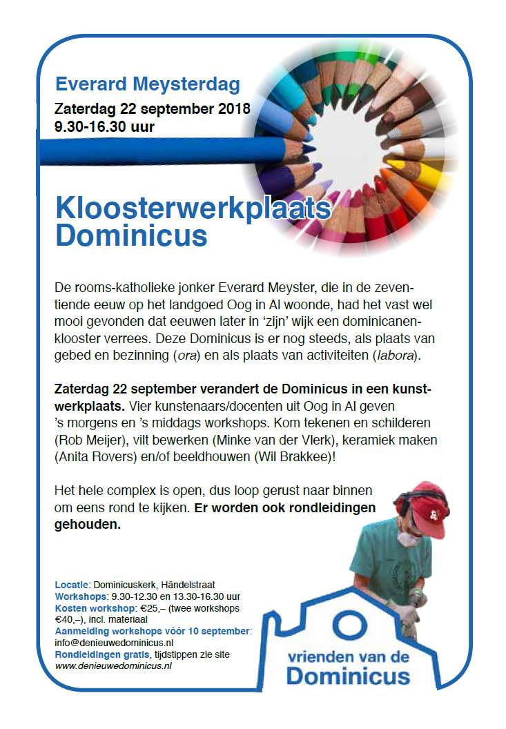 Flyer Everard Meysterdag 2018