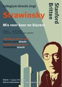 Flyer concert Collegium Utrecht, november 2018